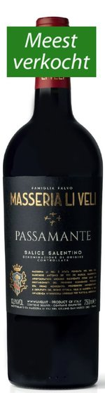 Passamante - Negroamaro - Salento IGT - 2019 - Masseria Li Veli
