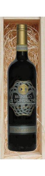 Geschenkkist met Brunello di Montalcino DOCG -  Campo di Marzo - Il Valentiano