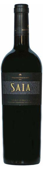 Saia - Nero d'Avola - Sicilia IGT - 2016 - Feudo Maccari - Sicilië