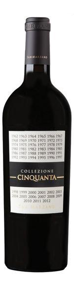 Collezione Cinquanta - Vino Rosso d'Italia - San Marzano
