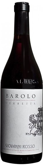 Barolo DOCG Cru Cerretta - 2012 - Giovanni Rosso