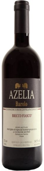 Barolo DOCG Cru Bricco Fiasco 2015 - Azelia di Luigi Scavino