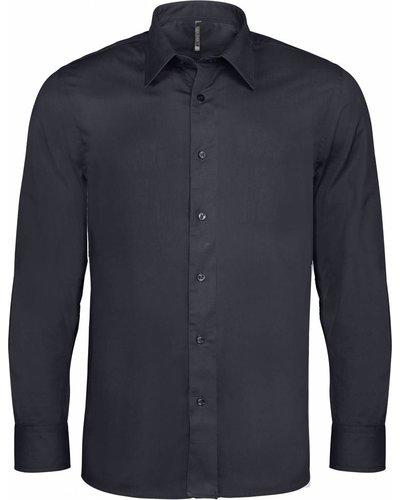 Kariban K529 Heren Stretch Overhemd met lange mouwen