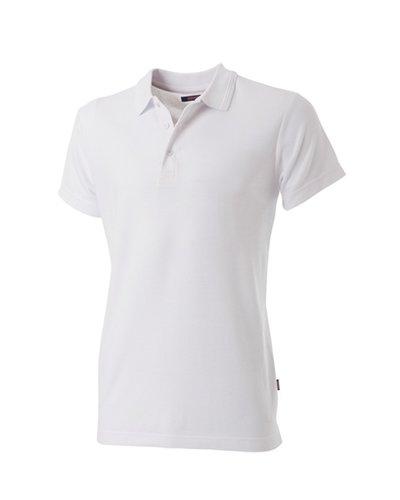 Tricorp Getailleerde Heren Polo in het Wit