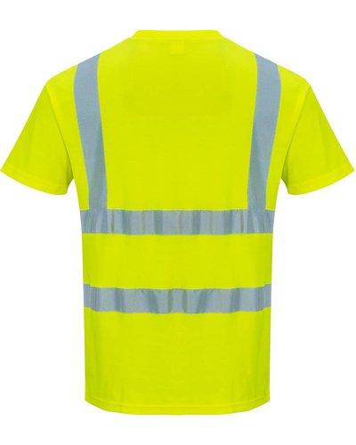 Portwest S478 Hi-Vis Fluor Geel T-shirt voor de zomer