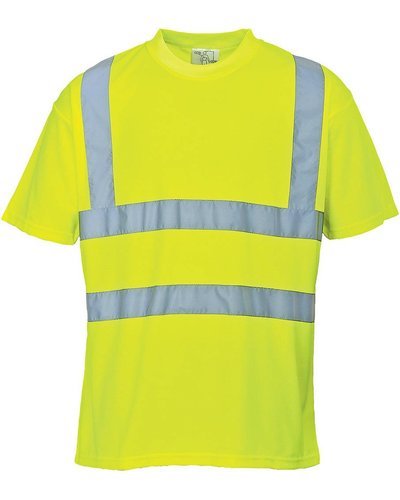 Portwest Fluor geel Hi-Vis Zomer T-shirt