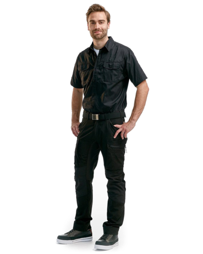 Blaklader Overhemd 3296 Twill met korte mouwen