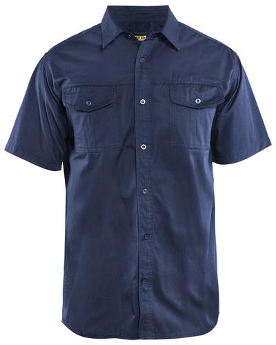 Blaklader 3296 Overhemd Twill met korte mouw