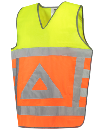 Tricorp Verkeersregelaarsvest geel/oranje