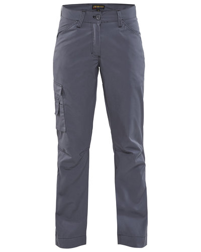 Blaklader 7190.1835 Grijze dames werkbroek van gerecycled polyester