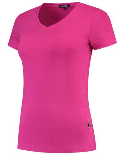 Tricorp TVT190 Dames Slim-Fit T-shirt met v-hals in diverse kleuren