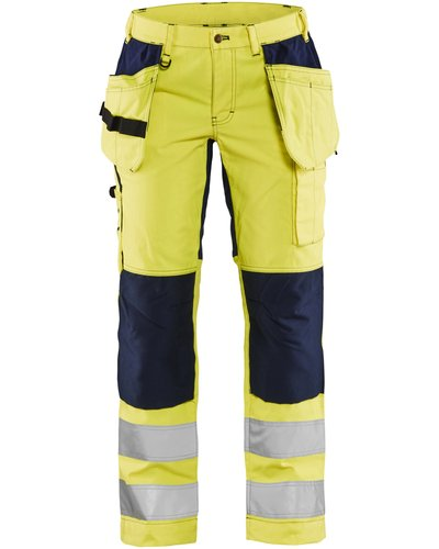 Blaklader Dames Stretch Werkbroek High Visibility