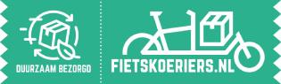 Bezorging per fietskoeriers