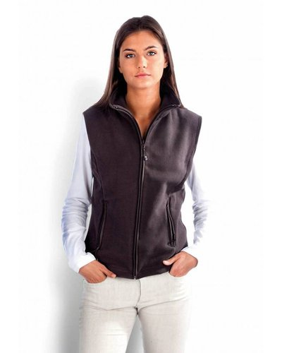Kariban getailleerde dames fleece bodywarmer K906