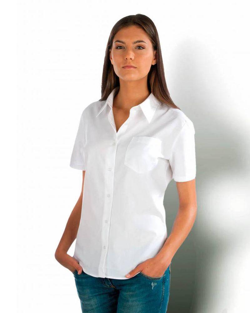 Dames Overhemd.Kariban K544 Dames Overhemd Met Korte Mouwen Van Kariban