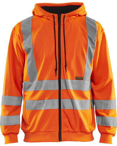 Blaklader 3346 HOODED SWEATSHIRT HIGH VIS