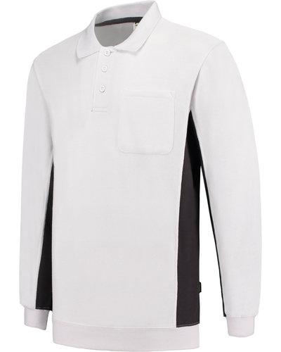 Tricorp TS2000 2-Kleurige Sweater Wit/grijs