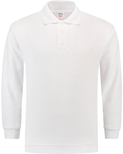 Tricorp PSB280 Witte Sweater met boord