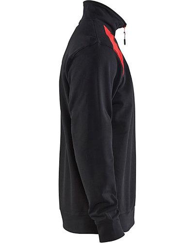 Blaklader 3353 Sweatshirt tweekleurig met halve rits
