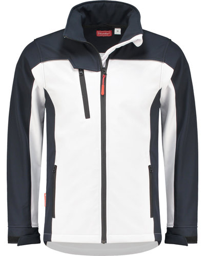Workman 10.1.2501 Softshell wit/navy