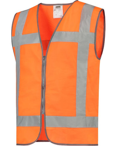 Tricorp Veiligheidsvest RWS met ritssluiting in geel of oranje