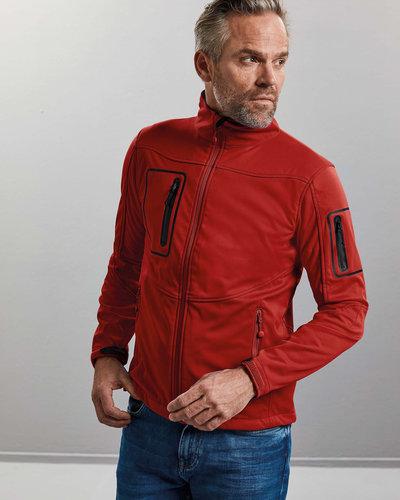 Russell Heren Softshell jas met borstzak