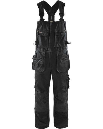 Blaklader 26001860 Tuinbroek met losse spijkerzakken en kniezakken