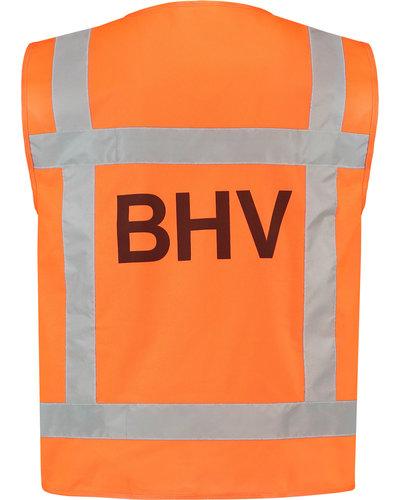 Tricorp Veiligheidshesje BHV met opdruk aan beide zijden