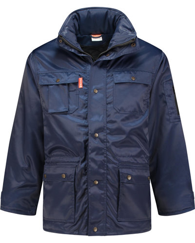 Workman Beaver Parka, Navy of Rood