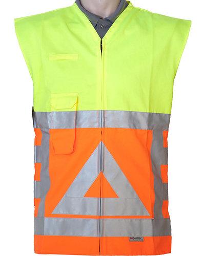 Anchor Stoffen Veiligheidsvest verkeersregelaar (polykatoen)