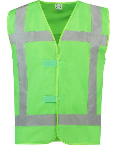 Tricorp Veiligheidshesje in de kleur lime groen