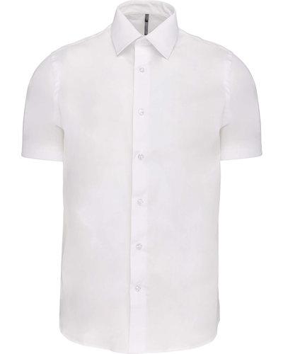 Kariban K531 Heren Stretch Overhemd Korte Mouwen