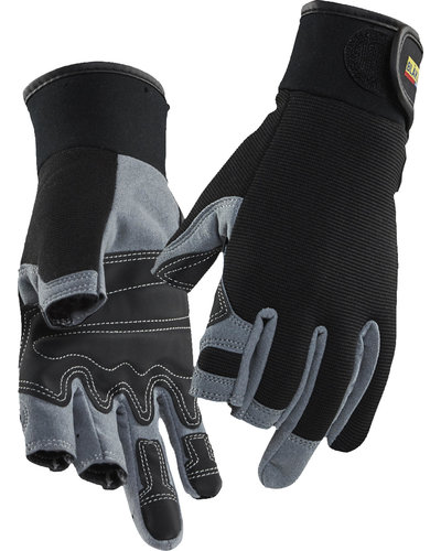 Blaklader 2233 Munin handschoenen met open vingertoppen