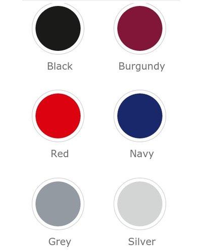 Clipstropdas in diverse kleuren