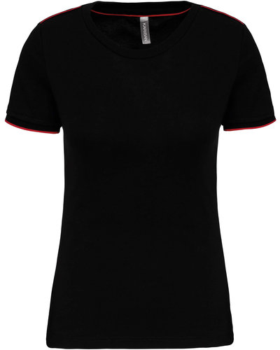 Kariban Dames T-shirt DayToDay met Korte Mouwen