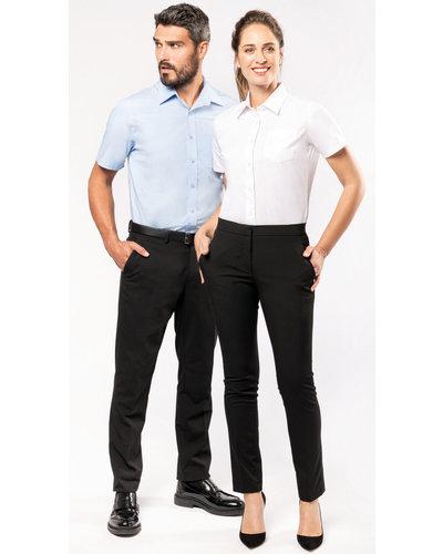 Kariban K543 Heren overhemd met korte mouwen