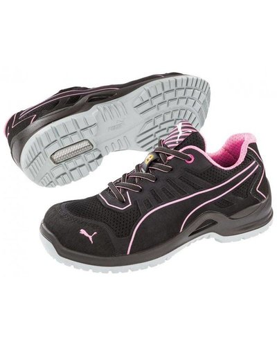 Puma Safety Shoes 64.411.0 Fuse TC Pink Wns Low S1P ESD SRC