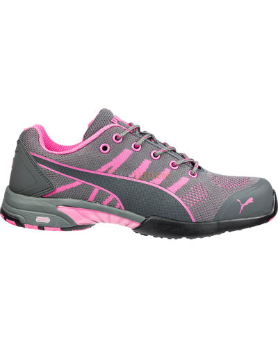 Puma Safety Shoes 64.291.0 Celerity Knit Pink WNS Low