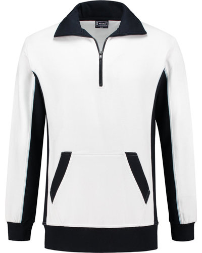 Workman Zipper Sweater Bi-Colour