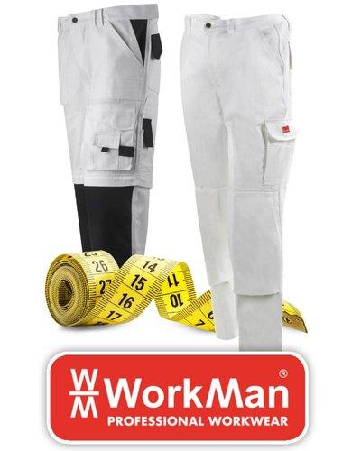 Workman Werkbroeken maatinfo