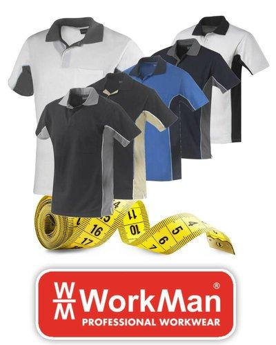 Workman Poloshirts maatinfo
