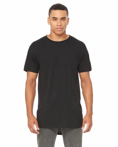 B&C Bella & Canvas Heren T-Shirt Extra Lang