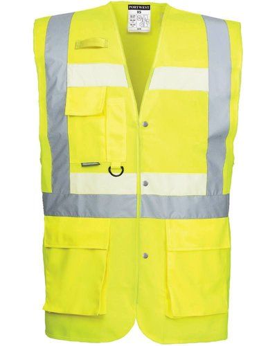 Portwest G476 Glowtex Hi Vis Executive vest