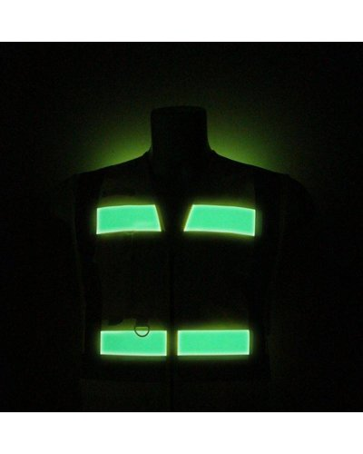 Portwest G476 Glowtex Hi Vis Executive vest 100% Polyester Geel