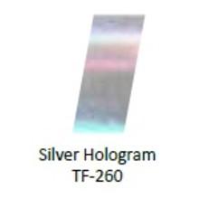 No Label Transfer Foil Silver Multi TF-178