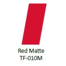 No Label Transfer Foil TF-010M Rood Mat