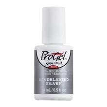 SuperNail ProGel Sandblasted Silver - Shimmer
