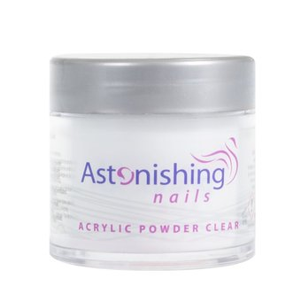 Astonishing Nails Acryl Powder Clear 25gr