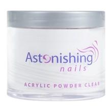 Astonishing Nails Acryl Powder Clear 100gr