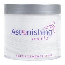 Astonishing Nails Acryl Powder Clear 250gr